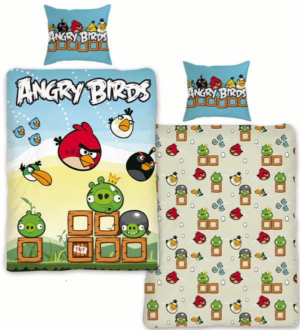 Detské obliečky 140x200 ANGRY BIRDS 2015