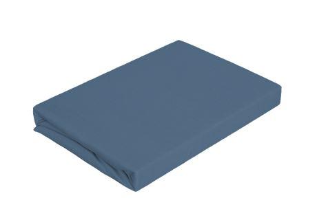 Jersey plachta 180x200 tmavo modrá