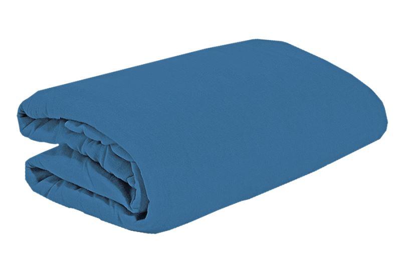 Jersey plachta 200x220 kráľovská modrá