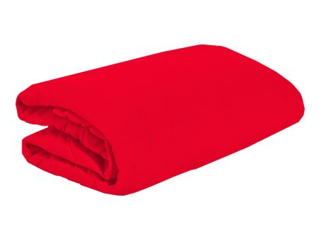 Jersey plachta 180x200 Červená