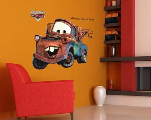 Nálepka na stenu CARS- Mater XXL