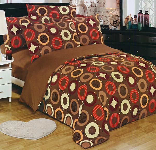 Bavlnené obojstranné obliečky 140x200 MATEJ +vankúšik
