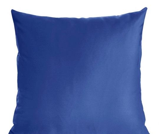 Obliečka na vankúšik 40x40 modrá