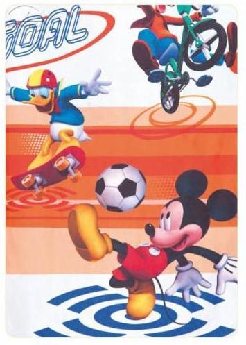Detská záclona š.3m MICKEY MOUSE šport