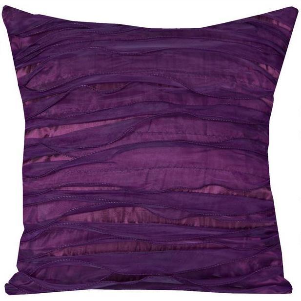 Obliečka na vankúšik 2ks- 40x40 LENA fialová