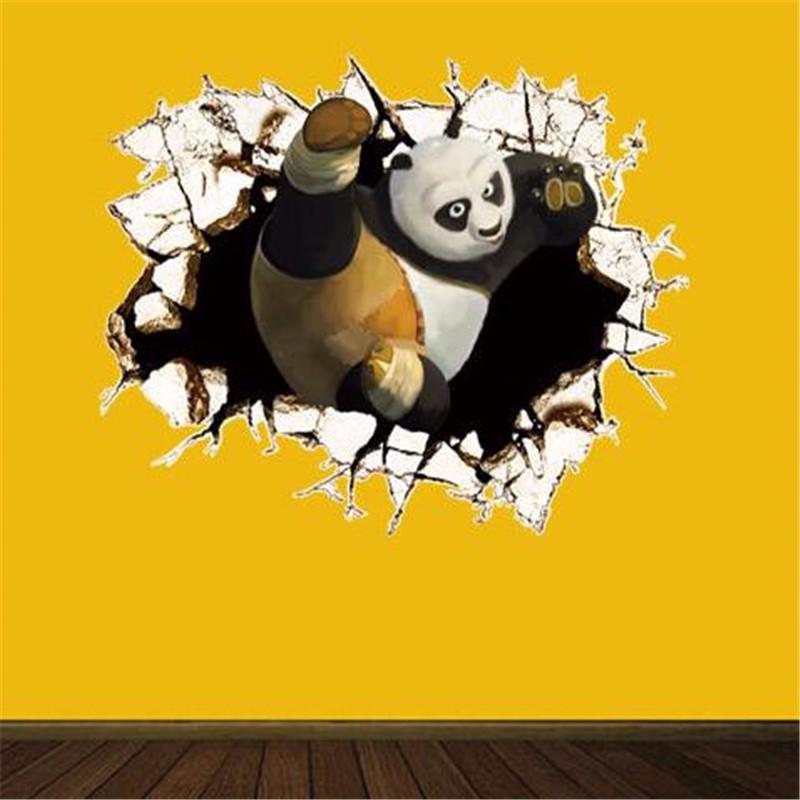 Nálepka na stenu KUNG-FU PANDA