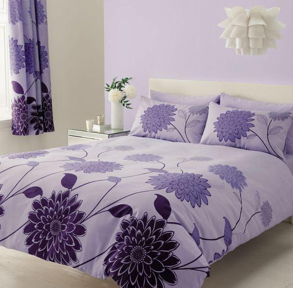 Bavlnené obliečky 140x200 RADOME lila