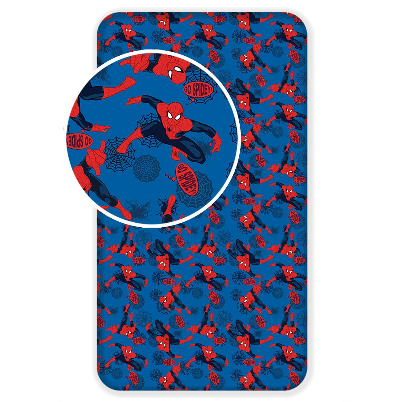 Detská plachta 90x200 SPIDERMAN 2017