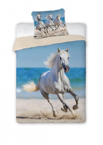 Detské obliečky 140x200 Kôň biely