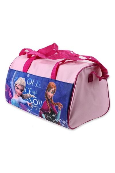 a0e5ccf30d Detská športová - cestovná taška FROZEN pink empty