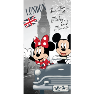Detská osuška M.MOUSE+MINNIE London